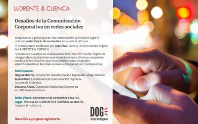 Tecnología y retos digitales desde la Comunicación Corporativa